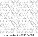 crisscross angled seamless... | Shutterstock .eps vector #674136334