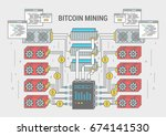 concept horizontal banner... | Shutterstock .eps vector #674141530