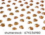 rhinestone bling background.... | Shutterstock . vector #674156980