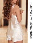 bridal morning before wedding... | Shutterstock . vector #674157604