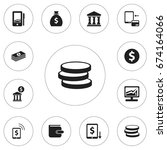 set of 12 editable finance...