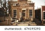 Western Town Rustic General...