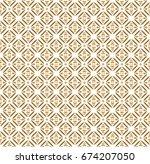 bali batik vector pattern | Shutterstock .eps vector #674207050