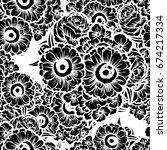 abstract elegance seamless... | Shutterstock .eps vector #674217334