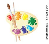 vector illustrations of two...   Shutterstock .eps vector #674251144