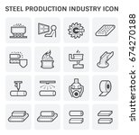 steel and metal production...