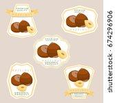 abstract vector illustration...   Shutterstock .eps vector #674296906
