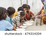 muzaffarpur  india   may 10 ... | Shutterstock . vector #674314204