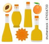 illustration on theme big set... | Shutterstock .eps vector #674316733