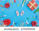 colorful celebration pattern... | Shutterstock . vector #674350534