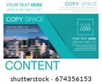 presentation layout design... | Shutterstock .eps vector #674356153