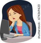 illustration featuring a young... | Shutterstock .eps vector #674369620