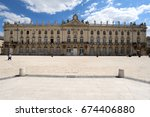 the hotel de ville  city hall ... | Shutterstock . vector #674406880