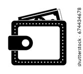 wallet icon | Shutterstock .eps vector #674434678