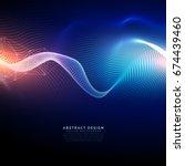 technology digital background... | Shutterstock .eps vector #674439460