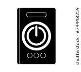 power button icon | Shutterstock .eps vector #674448259