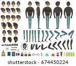 mascot or character design of... | Shutterstock .eps vector #674450224