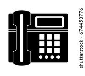 phone icon | Shutterstock .eps vector #674453776