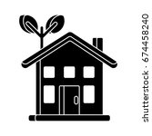 house icon | Shutterstock .eps vector #674458240