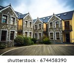 luxury mansion house. luxury... | Shutterstock . vector #674458390