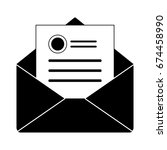 email icon | Shutterstock .eps vector #674458990