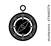 compass icon   Shutterstock .eps vector #674460376