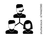 customer icon | Shutterstock .eps vector #674460580