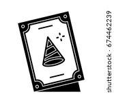birthday card icon   Shutterstock .eps vector #674462239