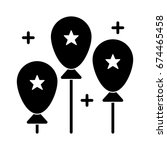 balloons icon | Shutterstock .eps vector #674465458