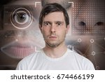 face detection and recognition...   Shutterstock . vector #674466199