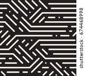 striped seamless geometric...   Shutterstock . vector #674468998