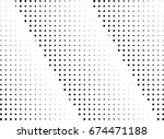 abstract halftone dotted... | Shutterstock .eps vector #674471188