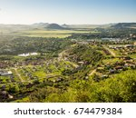 View Over Maseru  The Capital...