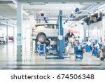 blurred background   car... | Shutterstock . vector #674506348
