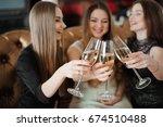holidays  nightlife ... | Shutterstock . vector #674510488