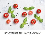 Fresh Cherry Tomatoes With...
