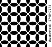monochrome repeating abstract... | Shutterstock .eps vector #674547178