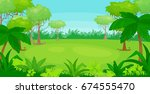 vector cartoon illustration of... | Shutterstock .eps vector #674555470