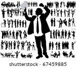 business people | Shutterstock .eps vector #67459885