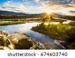 Sunrise Over the Snake River