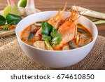 Hot And Sour Prawn Soup  Tom...