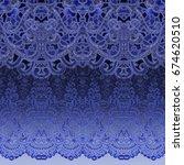 Beautiful Pattern On Seamless...