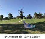 kentpark  sakarya  turkey. jul...   Shutterstock . vector #674623594