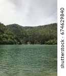 forest lake. suluklu lake is...   Shutterstock . vector #674629840