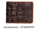 Crocodile Skin Wallet