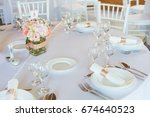 table setting with spoon  knife ...