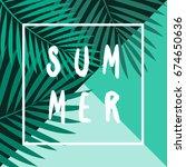 retro typographic summer design ...   Shutterstock .eps vector #674650636