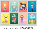 Back To School Card Set  Schoo...