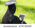 educational theme.beautiful... | Shutterstock . vector #674710549