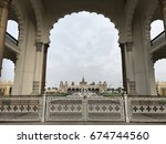 the majestic mysore palace | Shutterstock . vector #674744560